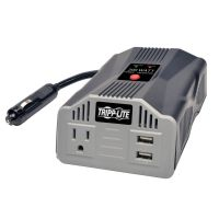 Tripp Lite 200W PowerVerter Ultra-Compact Car Inverter with Outlet and 2 USB Charging Ports SYNX4246203