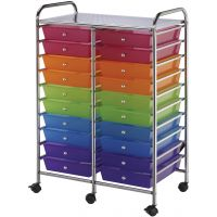 Blue Hills Studio Double Storage Cart NOTM406789