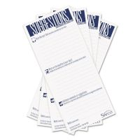 Safco Suggestion Box Cards, 3-1/2 x 8, White, 25 Cards/Pack SAF4231