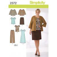 SIMPLICITY MISSES SPORTSWEAR NOTM495351