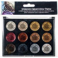 Cosmic Shimmer Iridescent Watercolor Palette Set 1 NOTM248178