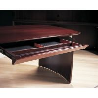 Tiffany Industries Napoli Series Center Desk Drawer, 30 x 18 x 2, Mahogany MLNNCDMAH