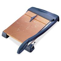 """X-ACTO Heavy-Duty Wood Base Guillotine Trimmer, 15 Sheets, 12"""" x 24"""" EPI26364"""
