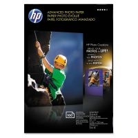 HP Advanced Photo Paper, 56 lbs., Glossy, 4 x 6, 100 Sheets/Pack HEWQ6638A