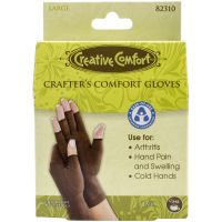 Creative Comfort Crafter's Comfort Gloves 1 Pair NOTM087345