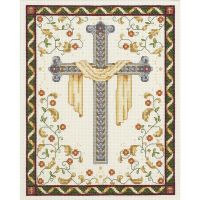 Janlynn His Cross Counted Cross Stitch Kit NOTM301672