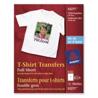 Avery Iron-on Light-Colored T-Shirt Transfers AVE3271