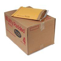 Sealed Air Jiffy Padded Self Seal Mailer, #4, 9 1/2 x 14 1/2, Natural Kraft, 100/Carton SEL67320