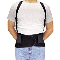 Allegro Economy Back-Support Belt, Small, Black ALG717601