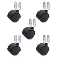 Lorell Premium Dual Hard Wheel Casters Set LLR33445