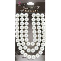 Jewelry Basics Pearl Beads 10mm 58/Pkg NOTM205763