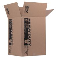 Duck Heavy-Duty Moving/Storage Boxes, 18l x 18w x 24h, Brown DUC280727