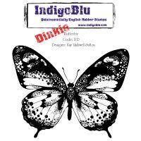 """IndigoBlu Cling Mounted Stamp 4""""X4"""" NOTM353110"""