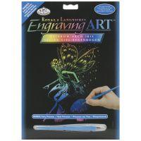 "Rainbow Foil Engraving Art Kit 8""X10"" NOTM134650"