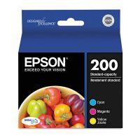 Epson T200520 (200) DURABrite Ultra Ink, Cyan/Magenta/Yellow, 3/Pack EPST200520