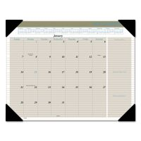 AT-A-GLANCE Executive Monthly Desk Pad Calendar, 22 x 17, Buff, 2019 AAGHT1500