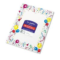 Geographics Design Suite Paper, 24 lbs., Party, 8 1/2 x 11, White, 100/Pack GEO39219