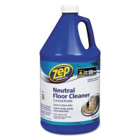 Zep Commercial Multi-Surface Floor Cleaner, Pleasant Scent, 1 gal Bottle ZPE1041696