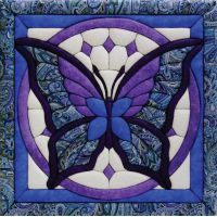 Butterfly Quilt Magic Kit NOTM464466