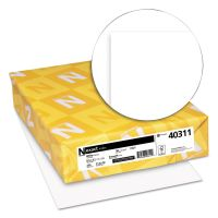 Neenah Paper Exact Index Card Stock, 90lb, 94 Bright, 8 1/2 x 11, White, 250 Sheets WAU40311