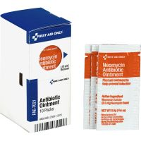 First Aid Only SmartCompliance Antibiotic Ointment, 10 Packets/Box FAOFAE7021