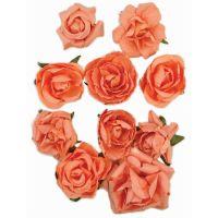 "Paper Blooms 1"" To 1.5"" 10/Pkg NOTM280153"