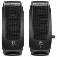 Logitech S120 2.0 Multimedia Speakers, Black LOG980000012