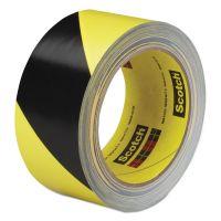 3M Caution Stripe Tape, 2w x 108ft Roll MMM57022