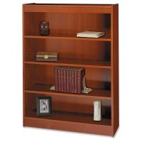 Safco Square-Edge 4-Shelf Bookcase SAF1503CYC