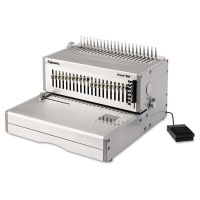 Fellowes Orion 500 Electric Comb Binding Machine, 500 Shts, 15 3/4 x 19 3/4 x 9 3/4, Gray FEL5643201