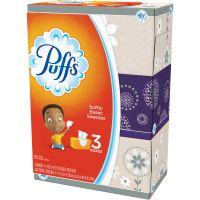 Puffs White Facial Tissue, 2-Ply, 8.2 x 8.4, 180/Pack, 8/Carton PGC87615
