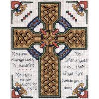 Celtic Cross Counted Cross Stitch Kit NOTM404873