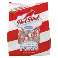 Red Bird Peppermint Puffs, Peppermint, Tub, 46 oz AVT6240RWP