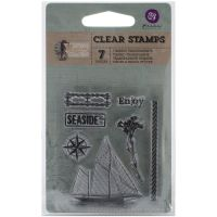 """Seashore Clear Stamps 2.5""""X3"""" NOTM415378"""