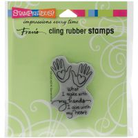 """Stampendous Fran's Cling Stamps 4.75""""X4.5"""" NOTM291302"""