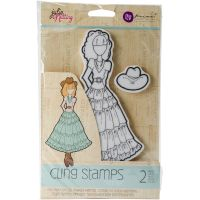 Julie Nutting Mixed Media Cling Rubber Stamps NOTM218915