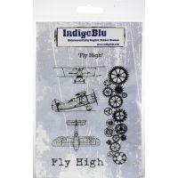 """IndigoBlu Cling Mounted Stamp 5""""X4"""" NOTM279861"""