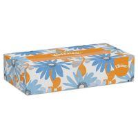 Kleenex White Facial Tissue, 2-Ply, 100 Tissues/Box, 5 Boxes/Pack, 6 Packs/Carton KCC21005