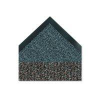 Crown Cross-Over Indoor/Outdoor Wiper/Scraper Mat, Olefin/Poly, 36 x 60, Brown CWNCS0035BR