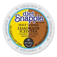 Snapple Diet Half 'n Half K-Cups, 22/Box GMT6113