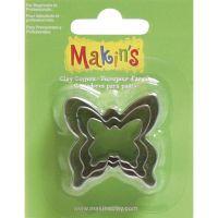 Makin's Clay Cutters 3/Pkg NOTM156472