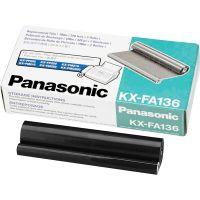 Panasonic KXFA136 Film Roll Refill, 2/Box PANKXFA136