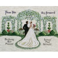 From This Day Forward Counted Cross Stitch Kit NOTM251054