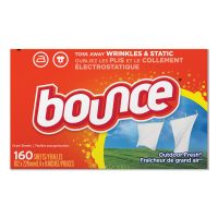 Bounce Fabric Softener Sheets, 160 Sheets/Box, 6 Boxes/Carton PGC80168CT