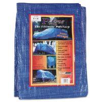 Anchor Brand Multiple Use Tarpaulin, Polyethylene, 8 ft x 10 ft, Blue ANR0810
