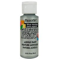 Deco Art Crafter's Acrylic Silver Morning Acrylic Paint NOTM227167