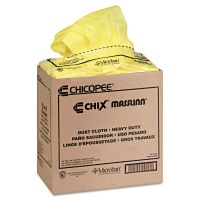 Chix Masslinn Dust Cloths, 22 x 24, Yellow, 150/Carton CHI8673