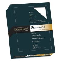 Southworth 25% Cotton Business Paper, 20lb, 95 Bright, 8 1/2 x 11, 500 Sheets SOU403C