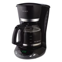Mr. Coffee 12-Cup Programmable Coffeemaker, Black MFEDWX23RB