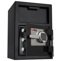 FireKing Depository Security Safe, 24 x 13.4 x 10.83, Black FIRSB2414BLEL